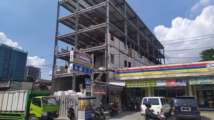 Proses Perizinan Mandek, Gedung Bakal Hotel di Fatmawati Sudah Menjulang Tinggi