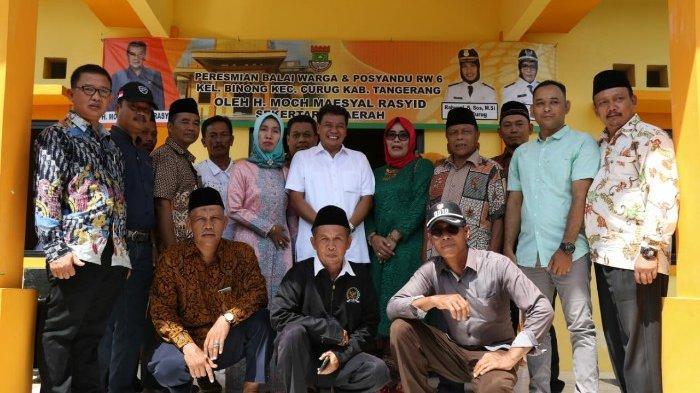 Gedung Balai Warga Berisi Posyandu Megah Diresmikan di Tangerang