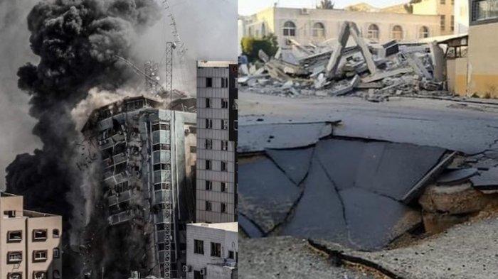 Israel Kembali Jatuhkan Bom dengan Sasaran Kantor Pemerintahan Palestina