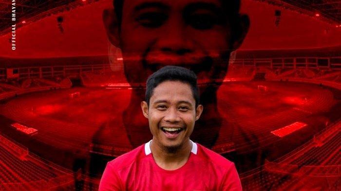 Evan Dimas Darmono Kembali Membela Bhayangkara Solo FC untuk Jalani Piala Menpora dan Liga 1 2021
