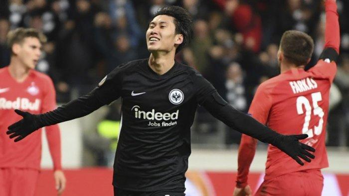 Aksi Gemilang Pemain Jepang Daichi Kamada Antarkan Eintracht Frankfurt Tekuk Bayern Muenchen