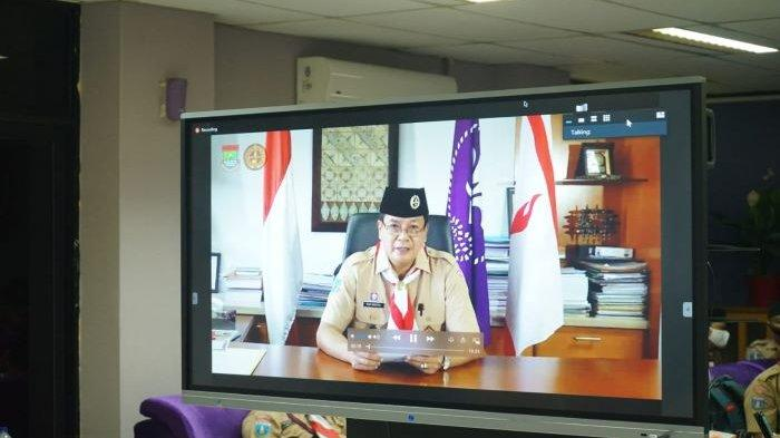 Gelang Ajar Virtual Pembina Pramuka Kabupaten Tangerang 2020 Ditujukan Pembina Kuasai Keterampilan