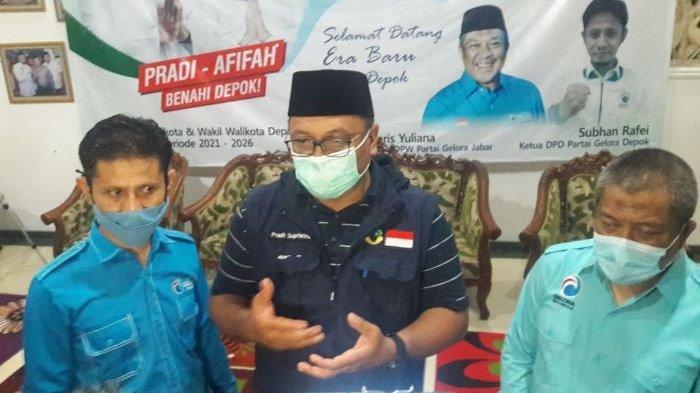 Dapat Dukungan dari Partai Gelora, Pradi Supriatna Semakin Optimistis Menang di Pilkada Depok