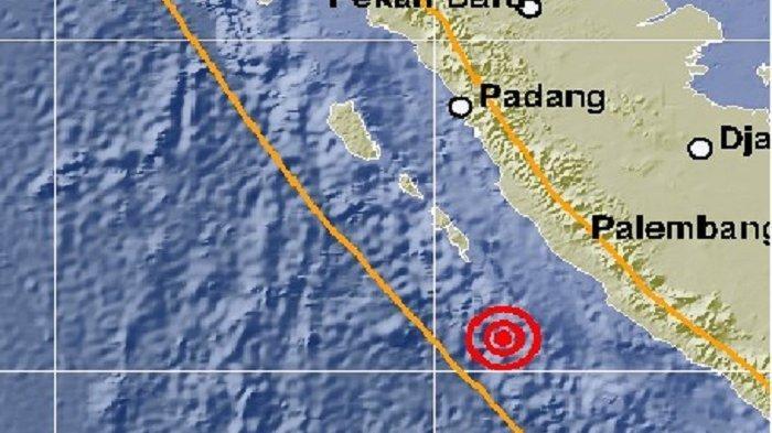 Terungkap, Gempa Kembar di Bengkulu Terjadi di Segmen Megathrust Mentawai-Pagai