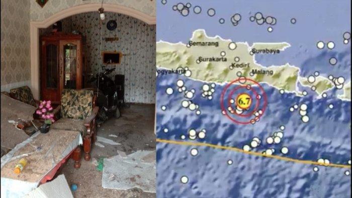 BREAKING NEWS: Gempa Bumi di Kabupaten Malang 6,7 SR, Tak Berpotensi Tsunami