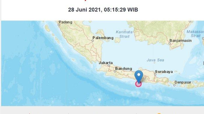 Gempa Gunung Kidul Yogyakarta 5 3 Sr Baru Terjadi Tak Berpotensi Tsunami Bisa Picu Gempa Susulan Warta Kota