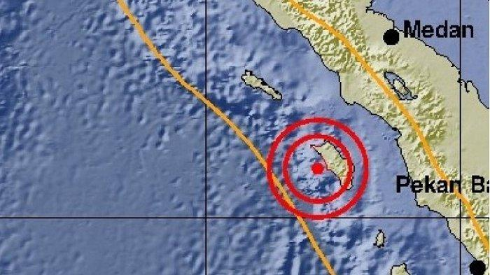 Gempa 5,2 Skala Richter Guncang Sumatera Bagian Utara, Tidak Picu Tsunami