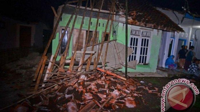 BPBD Kabupaten Tasikmalaya: Daya Sementara 109 Rumah Rusak Akibat Gempa