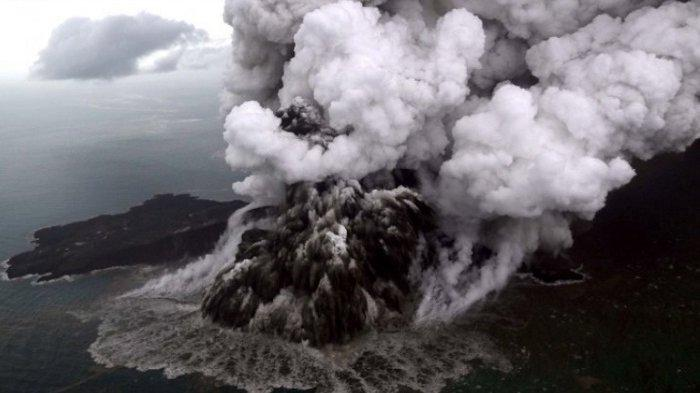 Hoaks, Rekaman Suara Soal Ancaman Gempa Akibat Erupsi Gunung Anak Krakatau