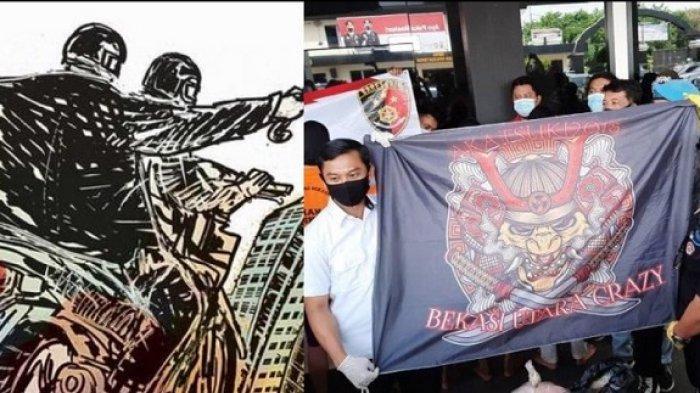 Pemuda Tewas Dibegal Geng Motor Akatsuki di Bekasi Utara, Ada 7 dari 8 Pelaku Begal Ditangkap Polisi