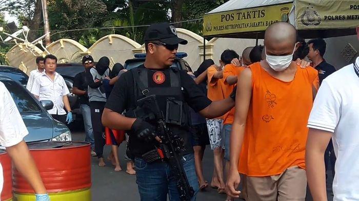 Sebanyak 14 Anggota Geng Motor yang Aniaya Remaja hingga Tewas di Tanjung Duren Jakarta Dibekuk