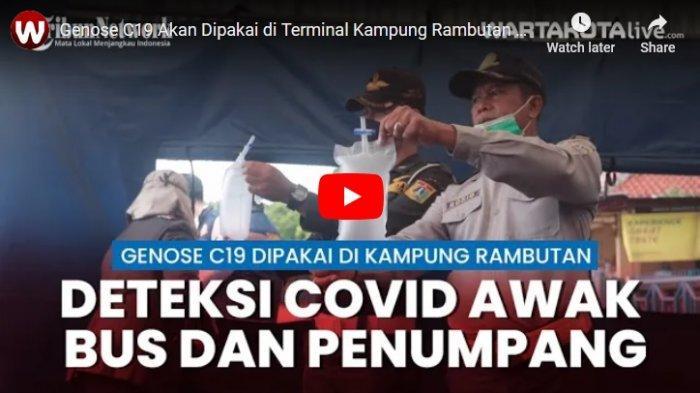 Terminal Kampung Rambutan Dukung Pemerintah Pengunaan Alat Genose C19