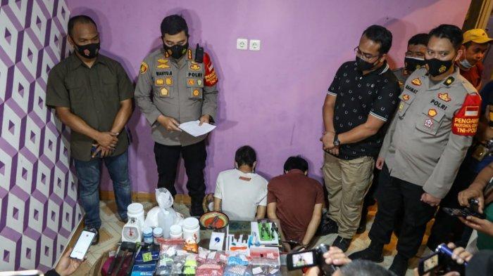 Home Industri Narkoba di Panongan Kabupaten Tangerang Produksi 9 Jenis Ekstasi, Ini Mereknya