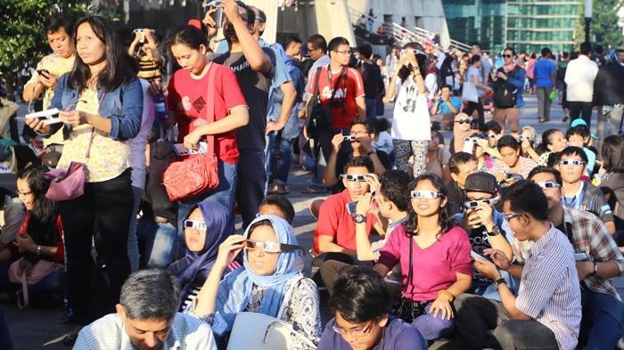 Wonderful Indonesia Merasakan Langsung Berkah Gerhana Matahari