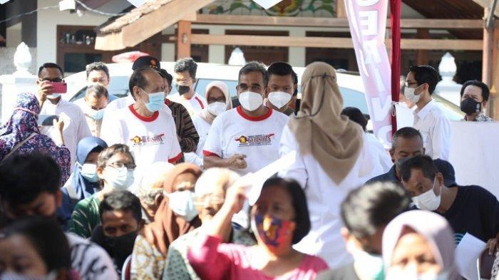Targetkan Kekebalan Komunal, Partai Gerindra Gelar Vaksinasi Covid-19 di Daerah Istimewa Yogyakarta