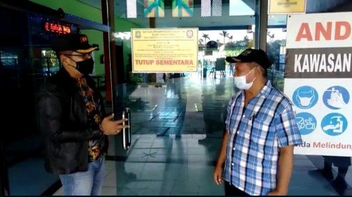 Bikin Resah Warga Satpol PP Kota Tangerang Bubarkan Para Remaja dan Segel Kolam Renang di Moderland