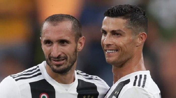 Rating Pemain Juventus vs AS Roma, Terbaik Ternyata Bukan Ronaldo Tapi Giorgio Chiellini, Kok Bisa?