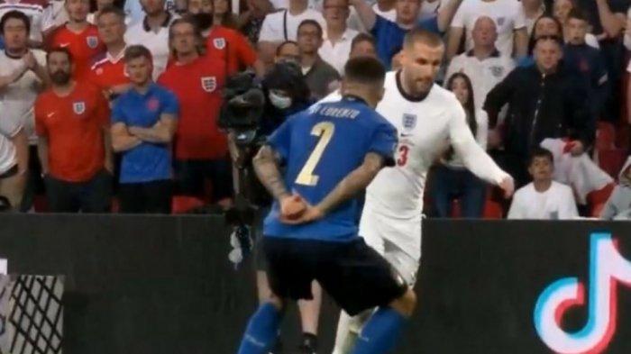 Italia Tertinggal 0-1 Lawan Inggris di Babak Pertama Euro 2020, Giovanni Di Lorenzo Jadi Sorotan