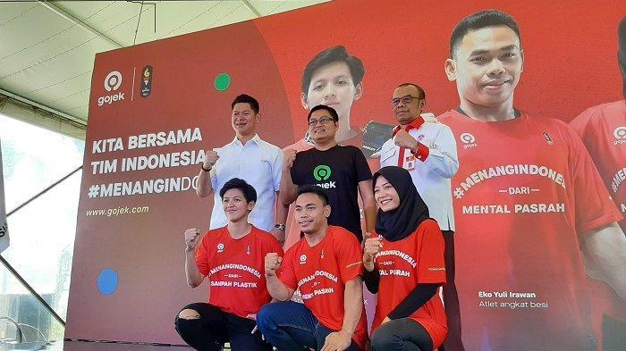Dukung Atlet Indonesia di SEA Games 2019, Gojek Gaungkan Menang Indonesia