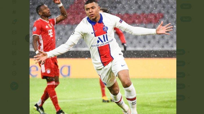 Sedang Berlangsung Bayer Muenchen vs PSG 1-2, Gol Cepat Mbappe Umpan Neymar Kejutan Bayern