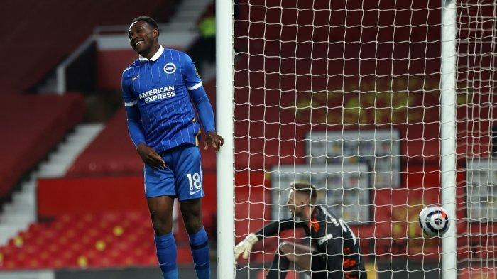 Gawat, Babak Pertama Manchester United vs Brighton 0-1, Gawang Setan Merah Dibobol Sang Mantan