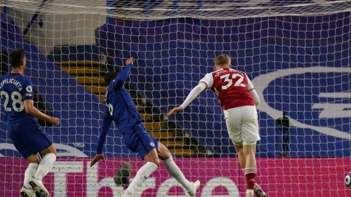 Babak Pertama Chelsea vs Arsenal 0-1, Kesalahan Memalukan Chelsea Bikin Gawang Kebobolan Smith Rowe