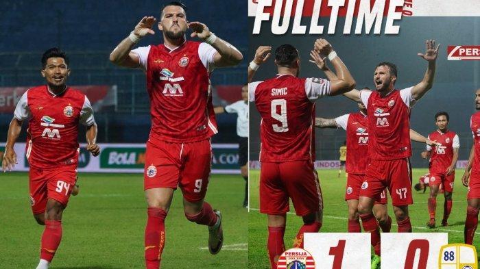 Persija Tim Kedua Melaju ke Babak Semifinal Piala Menpora 2021, Hadapi Kembali PSM Makassar