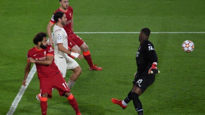 Hasil Sementara Babak Kedua Liverpool vs AC Milan 3-2, Gol M Salah dan Henderson Balikkan Skor