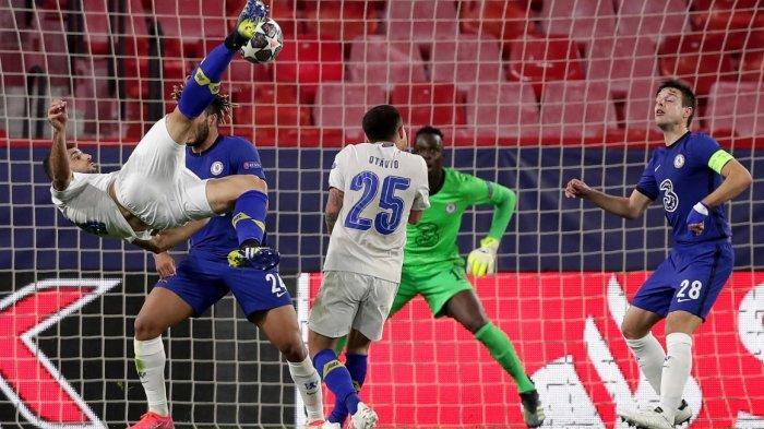 Chelsea Kalah 1-0 Oleh Porto Namun Tetap Lolos karena Menang Agreget 2-1, Chelsea Lebih Pantas Lolos
