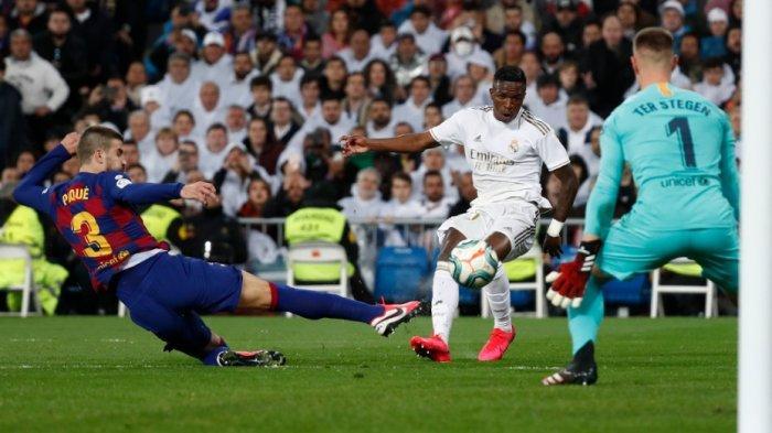 Hasil Real Madrid vs Barcelona 2-0, Real Madrid Gusur Barcelona dari Puncak Klasemen Sementara