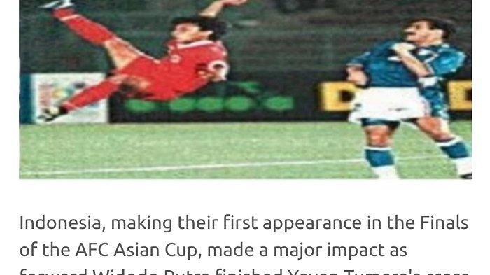 VIDEO: Aksinya Terpilih Jadi Gol Terbaik Piala Asia, Ini Kata Widodo Cahyono Putro