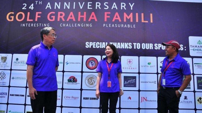 Golf Graha Famili Gelar Turnamen Golf Ethnic Futuristic