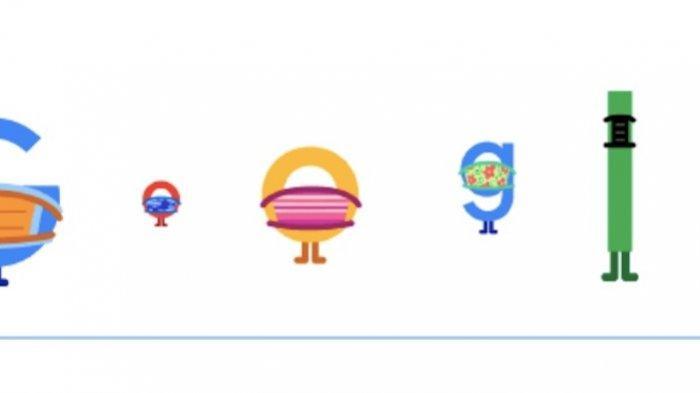 Google Beri Peringatan Wajib Pakai Masker Lewat Google Doodle Selasa 6 April