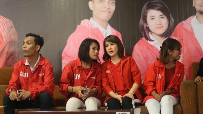 Kopdar Akbar di Bekasi, Ketum PSI Grace Yakin Caleg Dapil Jabar Masuk Senayan