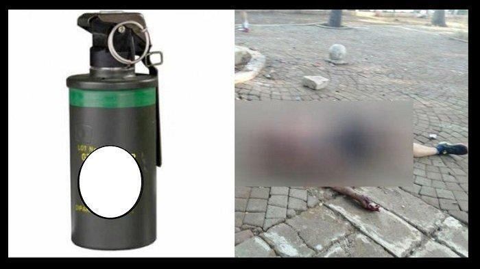 KEJANGGALAN Ledakan di Monas, Pengamat Militer Heran Soal Granat Asap: Kemungkinan Granat Nanas
