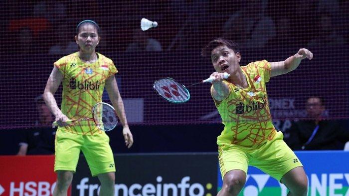 Greysia/Apriyani Gagal Tembus Final Hong Kong Open 2018