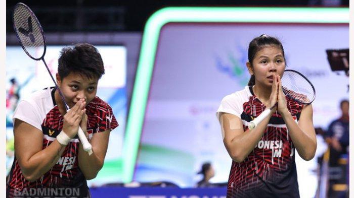 Greysia/Apriyani percaya pada prokes ketat yang diatur oleh panitia di Thailand Open