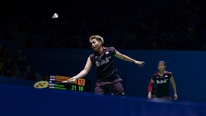 Greysia/Apriyani Melangkah ke Perempat Final Indonesia Open 2018