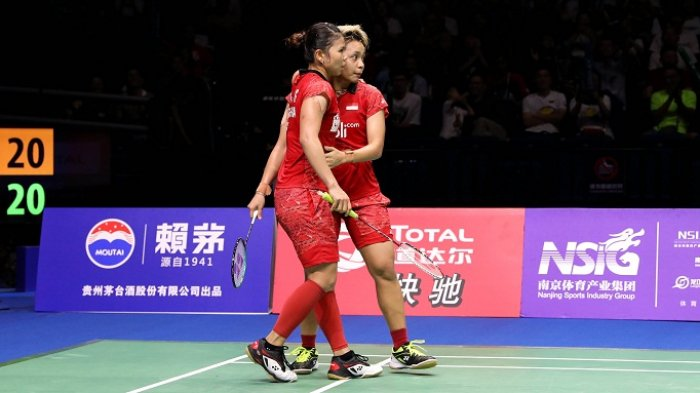 Greysia/Apriyani Kalah, Indonesia Tanpa Gelar di Kejuaraan Dunia 2018