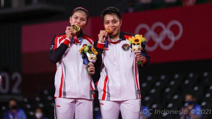 Denir Tante dari Apriyani Rahayu, Punya Feeling Greysia/Apriyani Akan Juara Sebelum Pergi ke Jepang