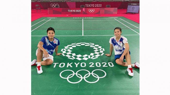 Pasangan ganda putri Greysia Polii/Apriyani Rahayu telah menciptakan sejarah menjadi pasangan ganda putri Indonesia pertama yang lolos ke final nomor ganda di Olimpiade