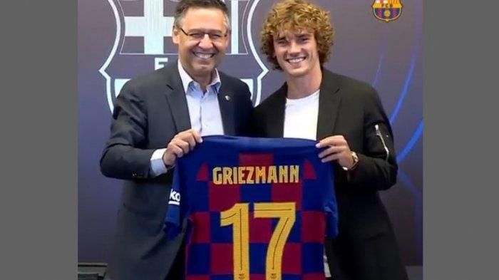 Antoine Griezmann Akhirnya Pilih Nomor Punggung 17, Benarkan Nomor Kurang Beruntung di Barca?
