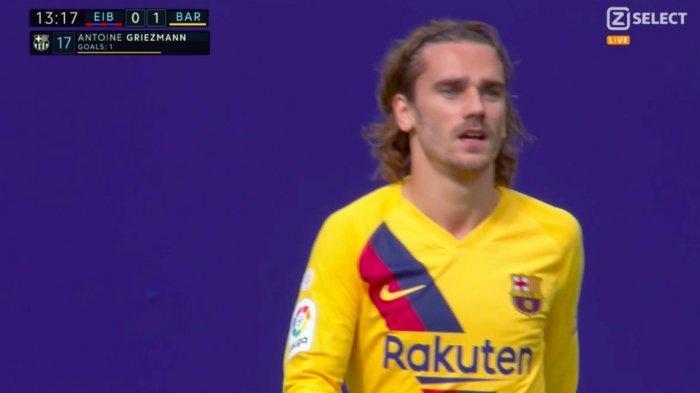 Babak Pertama Villarreal vs Barcelona 1-3: Antoine Griezmann Cetak Gol di Menit ke-44