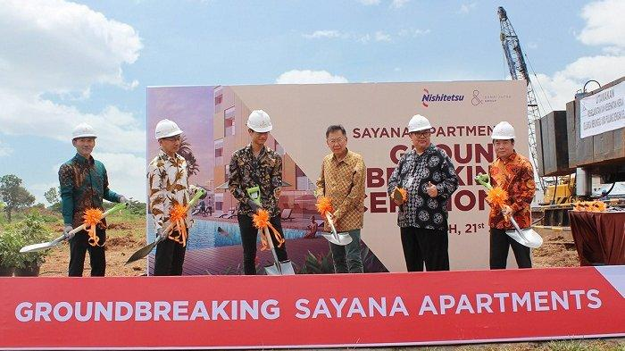 Groundbreaking Sayana Apartments, Damai Putra Group Targetkan Serah Terima Tower Pertama pada 2021