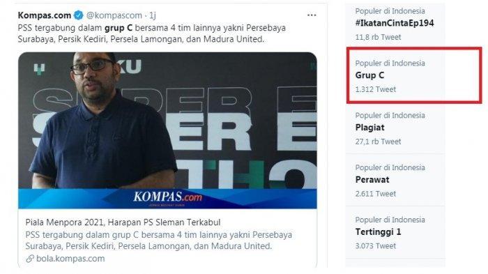 Trending Topic: Grup C Piala Menpora Identik Piala Gubernur Jatim, Berisi 4 Klub Jatim Plus PSS