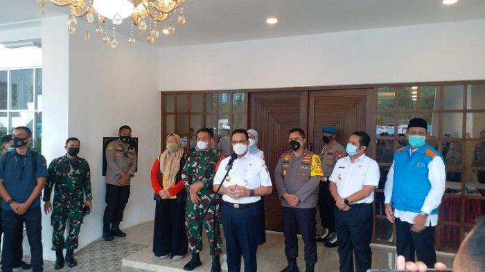 Rapat Koordinasi PPKM Dengan Kapolda Metro dan Pangdam Jaya, Ini Kata Gubernur DKI Anies