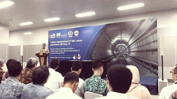 Anies Baswedan: MRT Fase 2 Lebih Terhubung dengan Transjakarta Dibanding MRT Fase 1