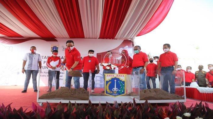 Kampung Susun Akuarium Mulai Dibangun Bertepatan dengan Peringatan HUT ke-75 RI