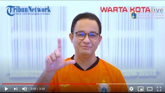 Anggap Enteng Soal Adanya Masyarakat yang Menolak Vaksin, Anies : Wong Vaksinnya aja Terbatas