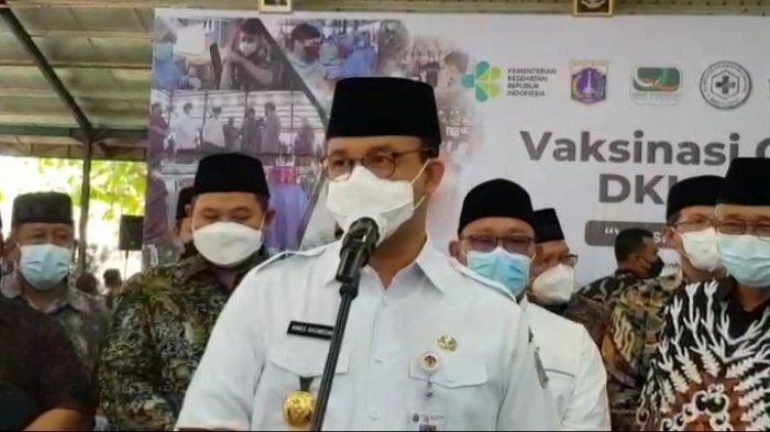 Gubernur Anies Baswedan Tegaskan Vaksinasi Covid-19 Sebagai Ikhtiar Kendalikan Risiko Terpapar Covid